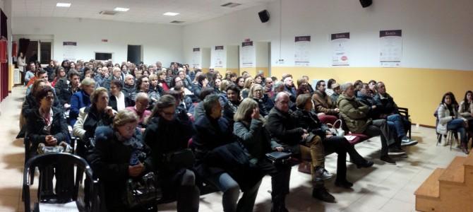 """Le foto della serata dell'otto marzo, in scena """"Via"""" di Fabrizio Saccomanno"""