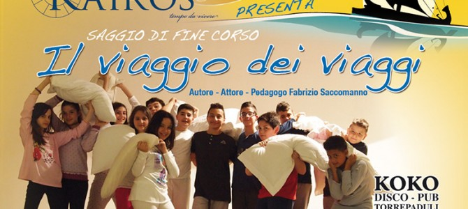 """ODV  Kairòs presenta """"Il viaggio dei viaggi"""" Saggio di fine corso condotto da Fabrizio Saccomanno"""